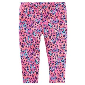 Toddler Girl OshKosh B'gosh® Patterned Crop Capri Leggings