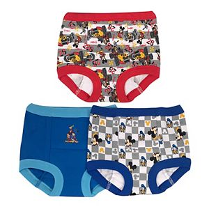 Boys 3 pack Mickey Mouse briefs