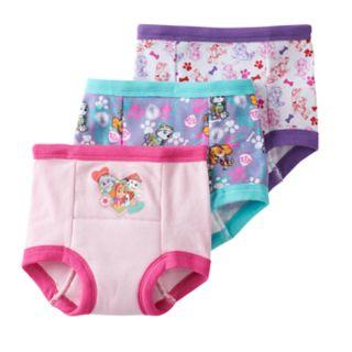 Toddler Girl Paw Patrol Skye, Everest & Marshall 3pk. Training Pants