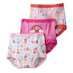 Toddler Girl Peppa Pig 3-pk. Training Pants