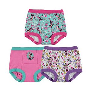 Disney's Minnie Mouse Toddler Girl 3-pk. Training Pants