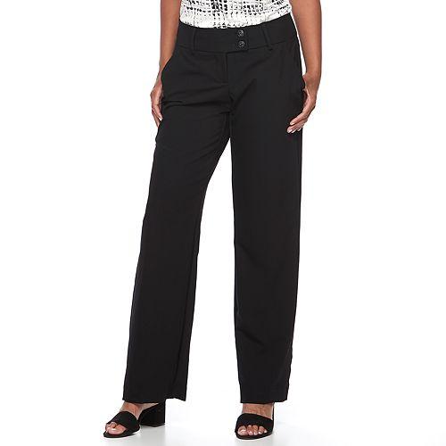 Women's Apt. 9® Curvy Dress Pants