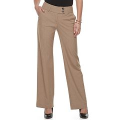 Women's Apt. 9® Midrise Curvy Dress Pants