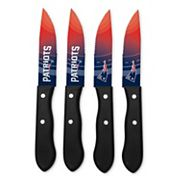New England Patriots 4 pc Steak Knife Set