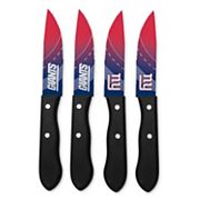 New York Giants 4 pc Steak Knife Set