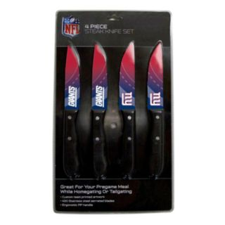 New York Giants 4-Piece Steak Knife Set