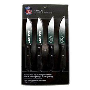New York Jets 4-Piece Steak Knife Set