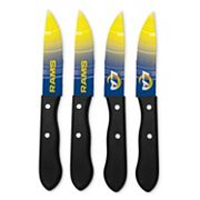 Los Angeles Rams 4 pc Steak Knife Set