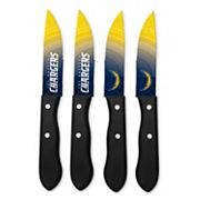 San Diego Chargers 4 pc Steak Knife Set