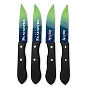 Seattle Seahawks 4 pc Steak Knife Set