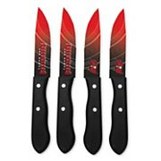 Tampa Bay Buccaneers 4 pc Steak Knife Set