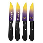 Minnesota Vikings 4 pc Steak Knife Set