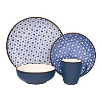 Sango Celestial Blue 16 pc Dinnerware Set