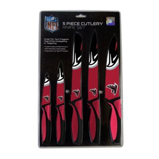 Atlanta Falcons 5-Piece Cutlery Knife Set