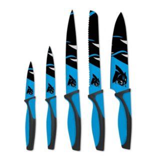 Carolina Panthers 5-Piece Cutlery Knife Set