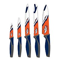 Denver Broncos 5-Piece Cutlery Knife Set