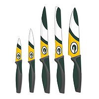 Green Bay Packers 5-Piece Cutlery Knife Set