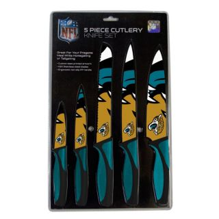 Jacksonville Jaguars 5-Piece Cutlery Knife Set