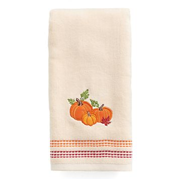 Celebrate Together Pumpkin Trio Hand Towel