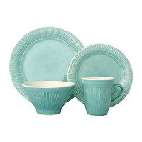 Sango Chromatic Gray 16 pc Dinnerware Set