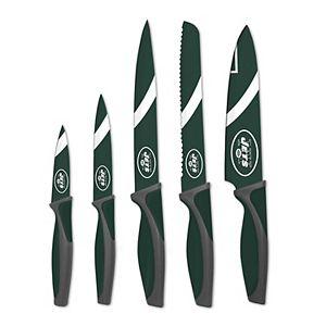 New York Jets 5-Piece Cutlery Knife Set