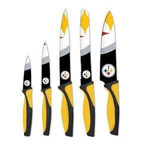 Pittsburgh Steelers 5-Piece Cutlery Knife Set