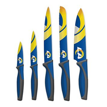 Los Angeles Rams 5-Piece Cutlery Knife Set