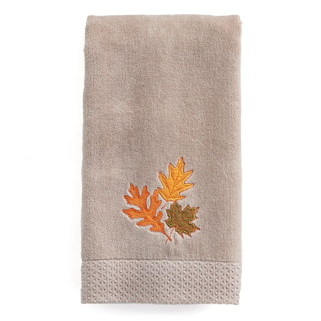 Celebrate Together Leaves Trio Hand Towel