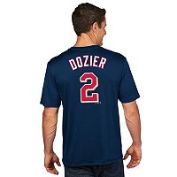 Men's Majestic Minnesota Twins Brian Dozier Player Name and Number Tee