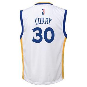 Toddler adidas Golden State Warriors Stephen Curry Replica Jersey