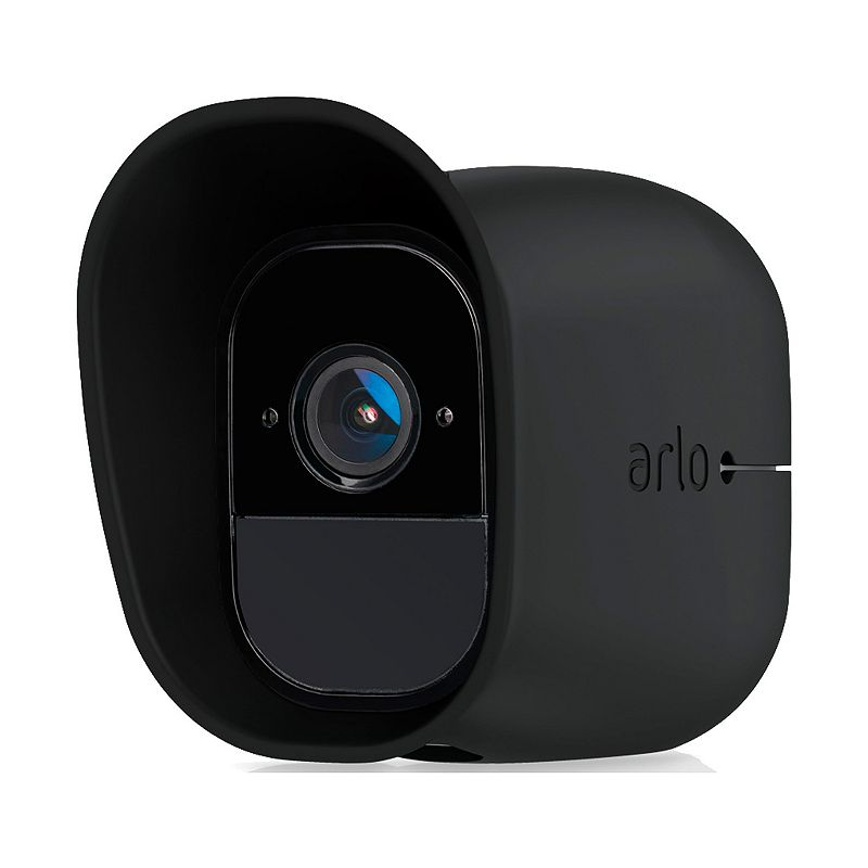 Netgear Arlo Pro Wire-Free HD Camera Skins (3-Pack), Black Discretely keep a watchful eye with these Arlo Pro camera skins. Watch the product video and learn more here. Convenient slip-on, slip-off design UV and water resistant Easily disguises cameras while still providing access For use with the Netgear Arlo Pro Wire-Free HD Camera What's Included 3 black UV-resistant silicone skins Window decal 3.97 H x 2.25 W x 3.05 D Weight: 0.1 lbs. Manufacturer's 1-year limited warrantyFor warranty information please click here For information about the modified return policy, please click here Model no. VMA4200B-10000S Size: One Size.