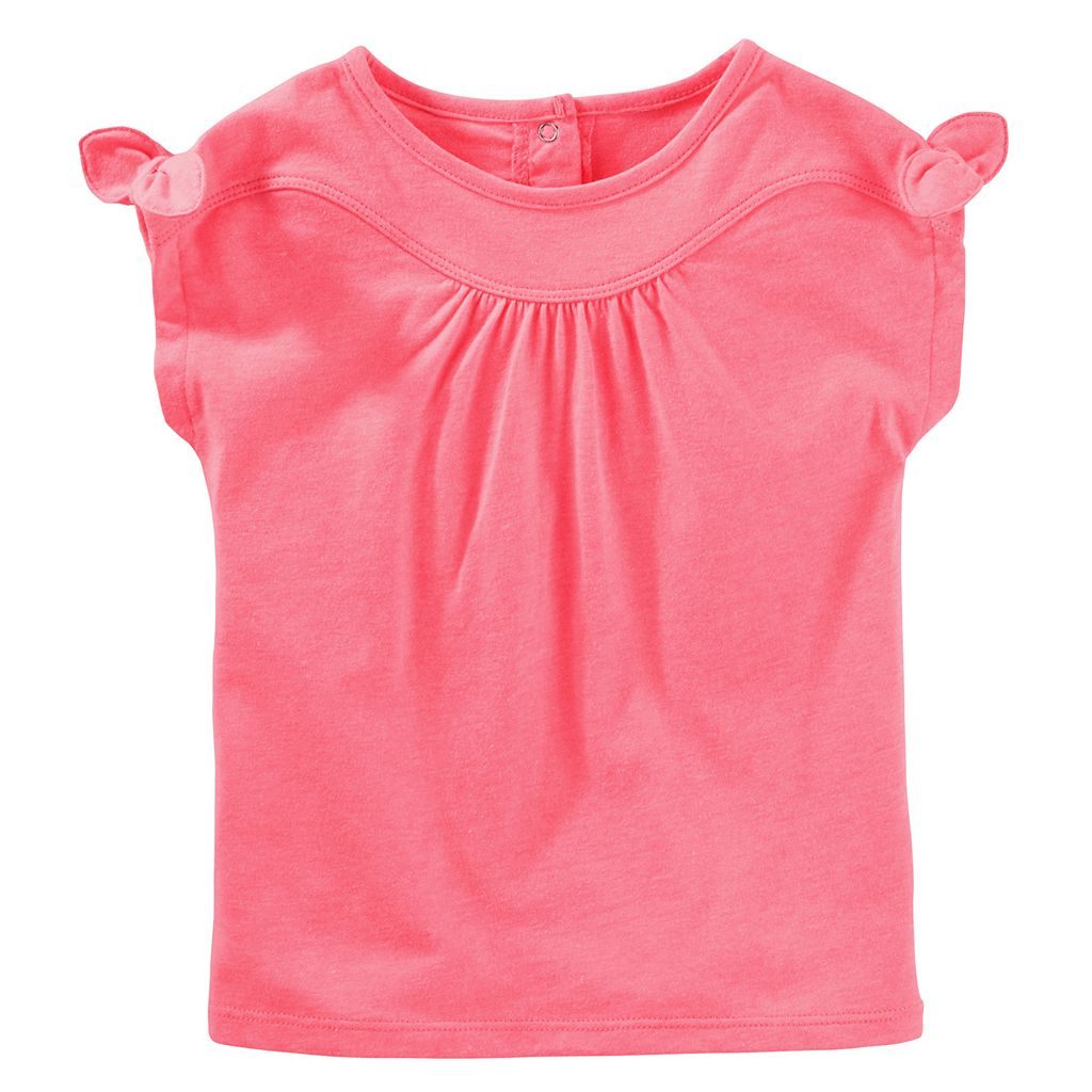 Toddler Girl OshKosh B'gosh® Knot Tie Sleeve Top
