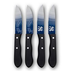 New York Yankees 4-Piece Steak Knife Set
