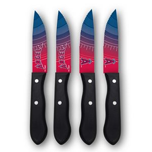 Los Angeles Angels of Anaheim 4-Piece Steak Knife Set