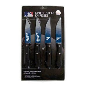 Los Angeles Dodgers 4-Piece Steak Knife Set