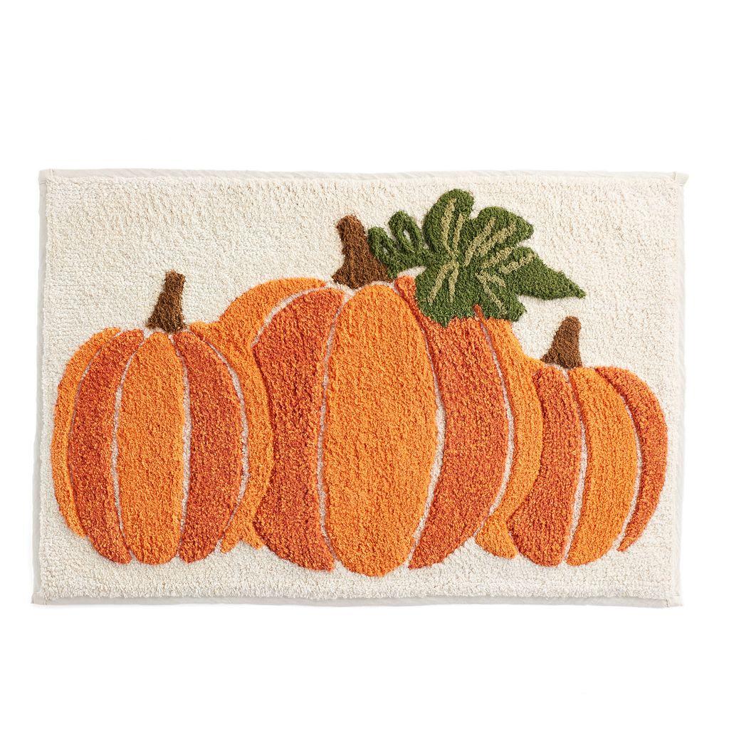 Celebrate Together Pumpkin Bath Rug