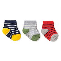 Baby Boy Carter's 3-pk. Striped Socks