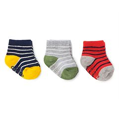Baby Boy Carter's 3 pkStriped Socks