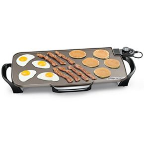 Presto 22-in. Electric Ceramic Griddle with Removable Handles