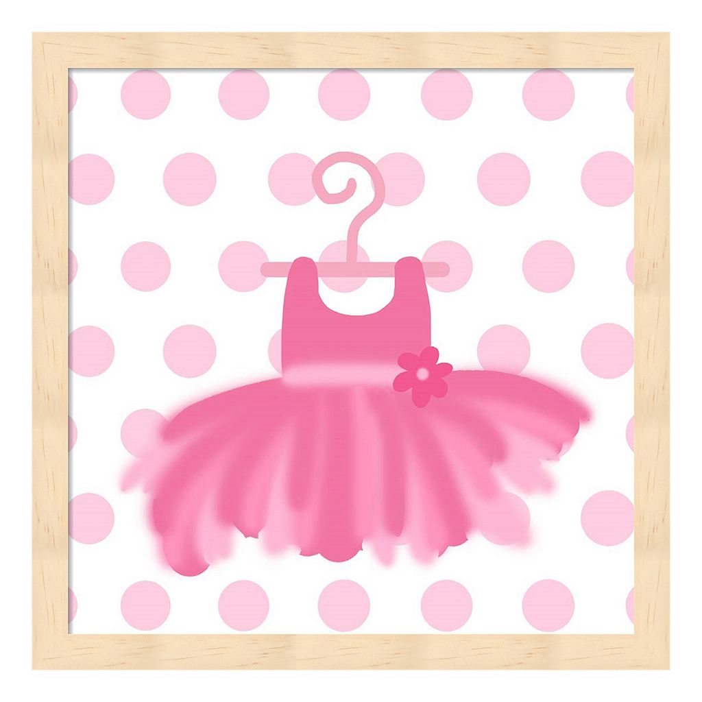 Ballerina Tutu Framed Wall Art