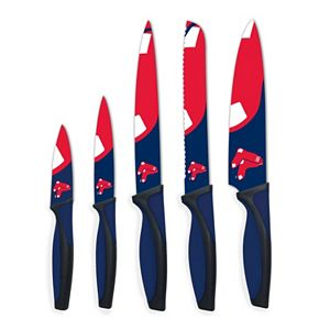 Boston Red Sox 5-Piece Cutlery Knife Set