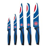 Chicago Cubs 5 pc Cutlery Knife Set