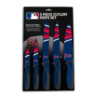 Los Angeles Angels of Anaheim 5-Piece Cutlery Knife Set
