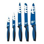 Los Angeles Dodgers 5-Piece Cutlery Knife Set