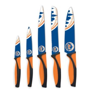 New York Mets 5-Piece Cutlery Knife Set