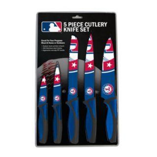 Texas Rangers 5-Piece Cutlery Knife Set