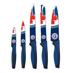 Toronto Blue Jays 5 pc Cutlery Knife Set