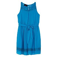 Girls 7-16 IZ Amy Byer Lace Inset Dress