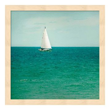 Mint Cottage Days III Framed Wall Art