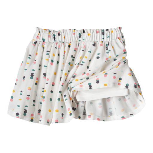 Toddler Girl Jumping Beans® Print Paper-Bag Waist Skort